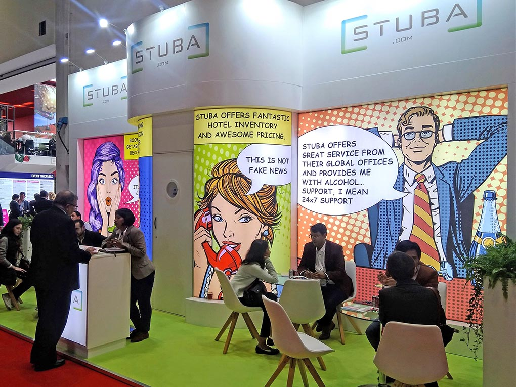 Stuba debuts at WTM with huge success
