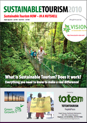 New sustainable tourism report: free sample: plus an